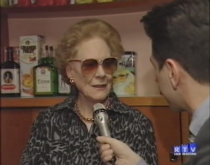 Renata Tebaldi: Il Teatro Galli com'era e dov'era (intervista a San Marino RTV, 22 gennaio 1998)